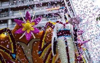 Sorteo de salida de la Batalla de Flores 2015